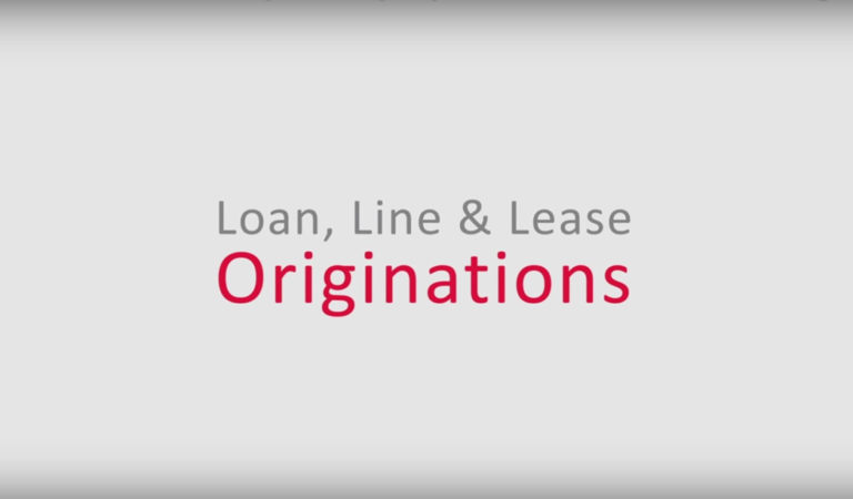 Origination Module Key Functionality ~ Lending & Leasing as a Service (LLaaS)