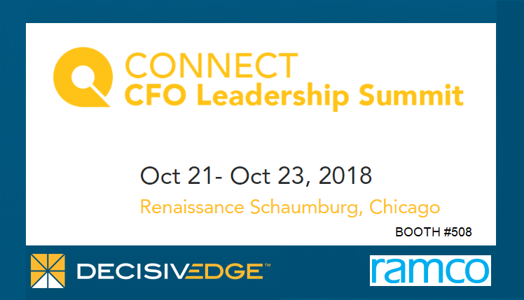 DecisivEdge and Ramco to participate in Connect CFO Leadership Summit