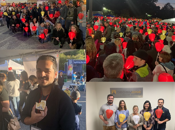 "DecisivEdge Joins Thousands to Support ""Light The Night"" Cure for Cancer"