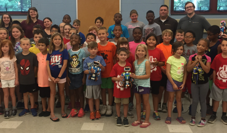DecisivEdge takes S.T.E.M to School Children At Brandywine School District Camp